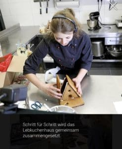 "Online Backkurs ""Lebkuchenhaus"""