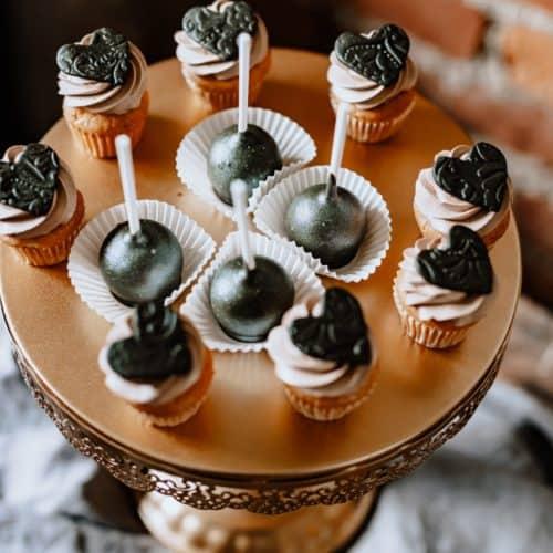 sweet table- Minicupcakes und Cake Pops